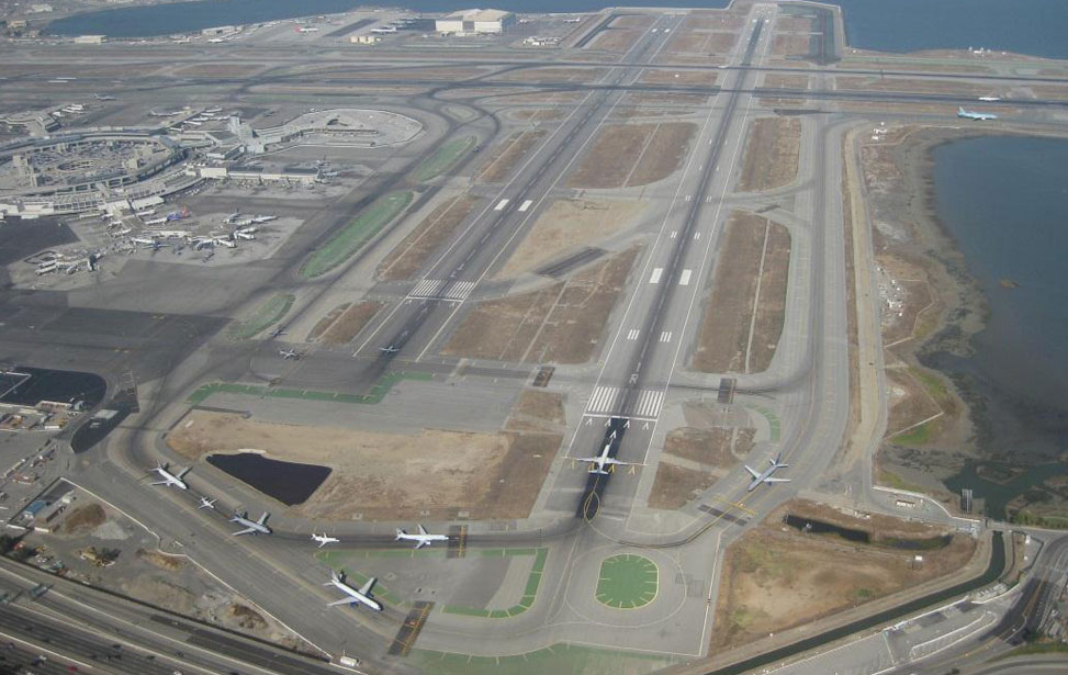 Airport Runway, Taxiway & Aprons
